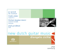Cover SACD New Dutch Guitar Music